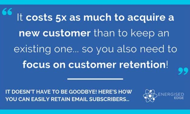 It Doesn't Have To Be Goodbye! Here's How You Can Easily Retain Email Subscribers…